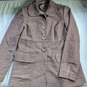 Gap brown pea coat